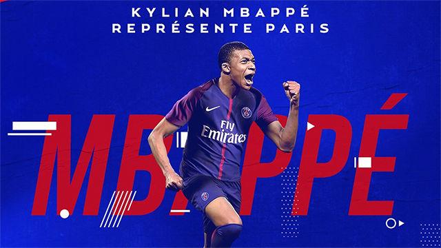 PSG anuncia oficialmente el fichaje de la joven joya francesa Mbappé