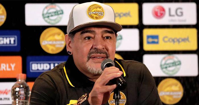 Maradona pide a México no jugar más contra la selección de El Salvador