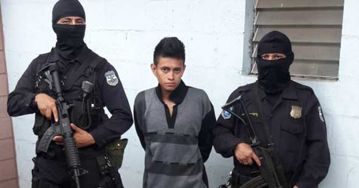 PNC captura en Sonsonate a peligroso pandillero acusado de homicidio