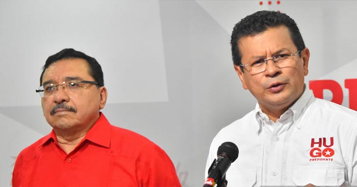 Nombran a Medardo Gonzáles como jefe de campaña electoral de Hugo Martínez