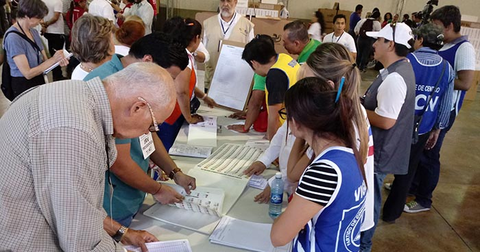 TSE llamará a más de 22 mil ciudadanos para integrar las JRV en las elecciones presidenciales