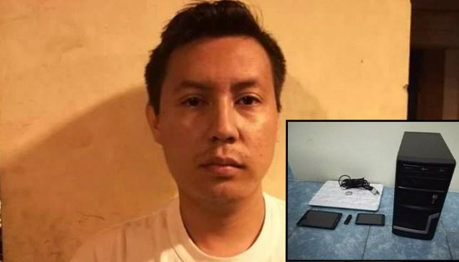 Capturan en Santa Tecla a sujeto que compartió el video pornográfico de una estudiante