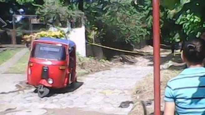 Presuntos pandilleros acaban con la vida de un mototaxista en Sonsonate