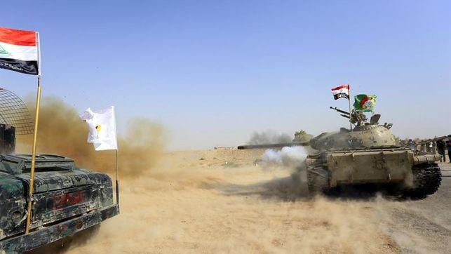 Mueren 37 terroristas en bombardeos de la coalición en Irak