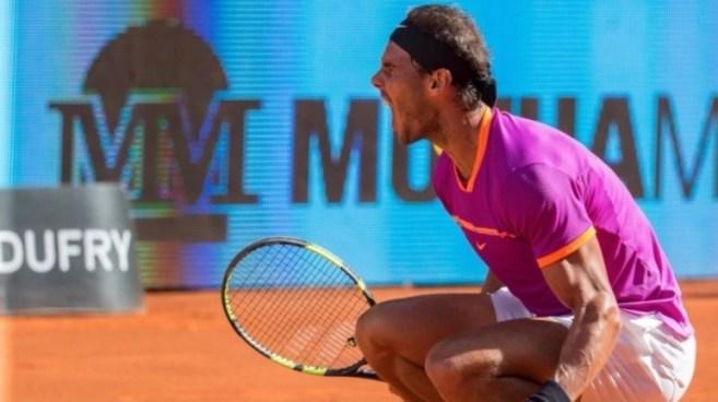 Nadal derrota a Djokovic y va por su quinto título del Abierto de Madrid