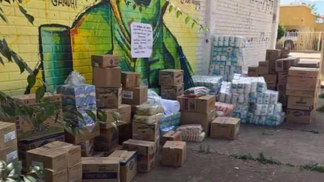 Narcotraficantes dejan generoso donativo para damnificados por el terremoto en México