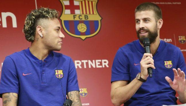Piqué asegura que Neymar se queda en el Barça