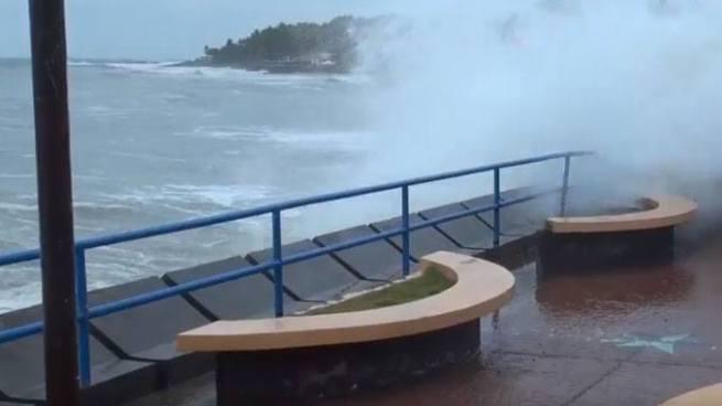 Oleaje más rápido y alto durante el fin de semana por tormenta extra-tropical