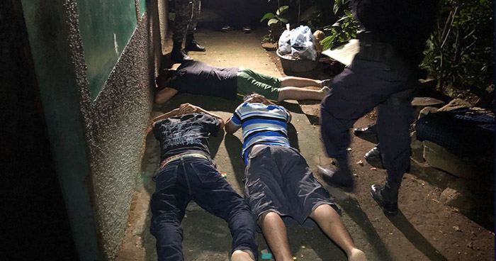 Ordenan la captura de más de 70 pandilleros en el departamento de La Libertad