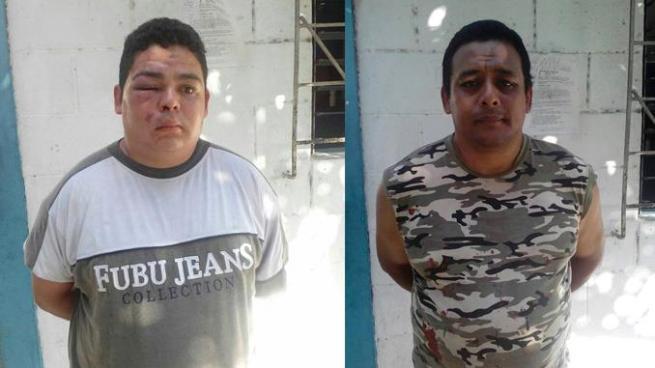 Por amenazas y lesiones capturan a dos hermanos en Ciudad Delgado, San Salvador