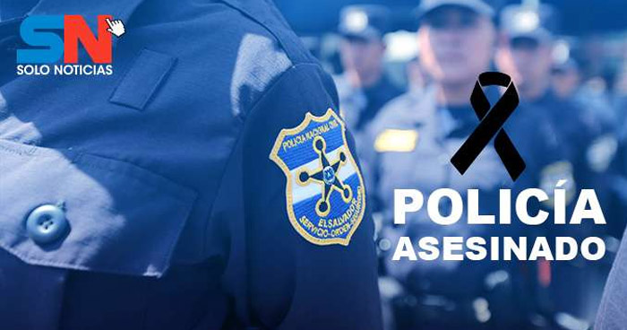 Asesinan a un agente de la PNC en Sonsonate