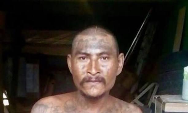 """PNC de San Vicente captura al """"Popeye"""" pandillero que recién había salido de un penal"""