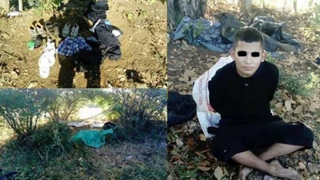 FES desbarata guarida de pandilleros y captura a un terrorista en San Miguel