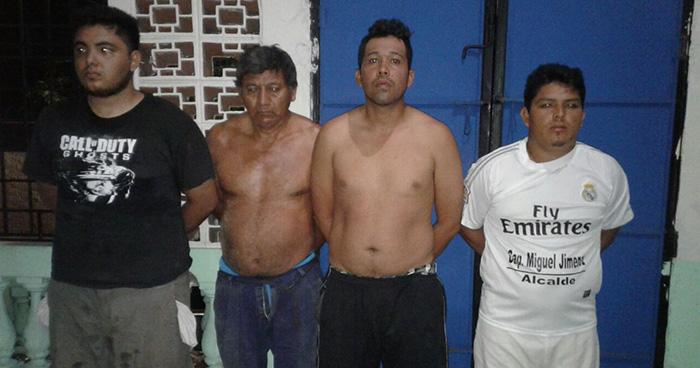 Capturan a pandilleros que impedían el paso a visitantes y amenazaban a habitantes de La Libertad