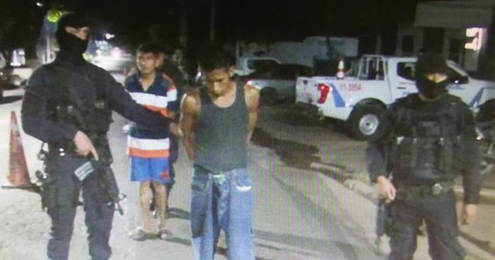 Capturan en Ahuachapán a pandilleros involucrados en el asesinato de un sargento de la PNC