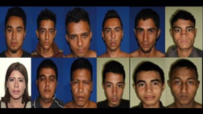 Condenan a pandilleros involucrados en diversos delitos perpetrados en Usulután