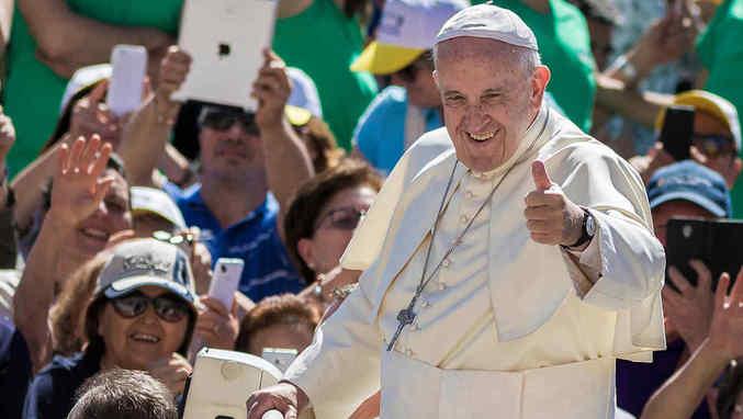 Papa llama a dar paso sincero para reconciliación