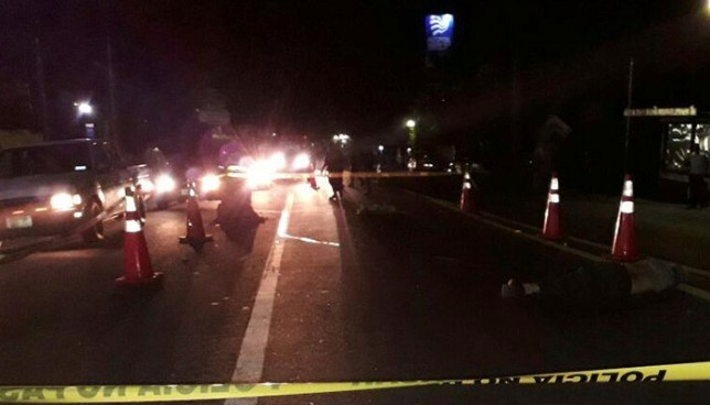 Patrulla que trasladaba a una persona atropellada embiste y mata a un hombre en San Vicente