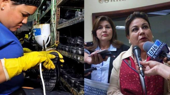 ARENA pide interpelar al Ministro de Educación por impago a proveedores de zapatos escolares