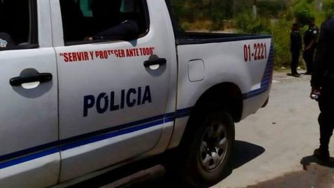 Patrulla de la PNC arrolla a familia y mata a una menor en San Vicente