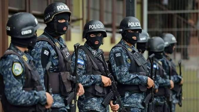 La huelga de la policía agrava la crisis — Honduras