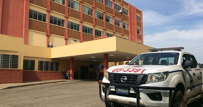Trasladan al hospital a un agente de la PNC que se hirió accidentalmente en Usulután