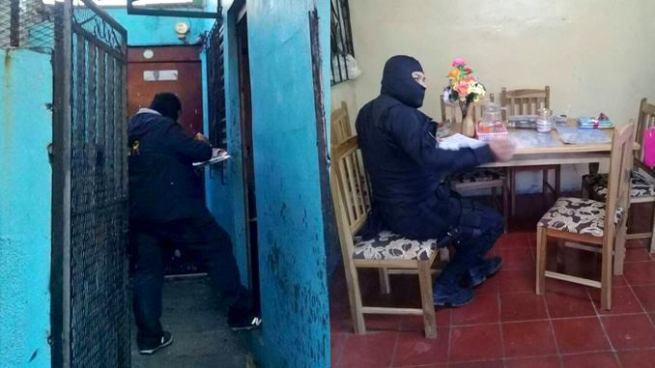 Capturan a agentes de la PNC por robar varios objetos de una vivienda