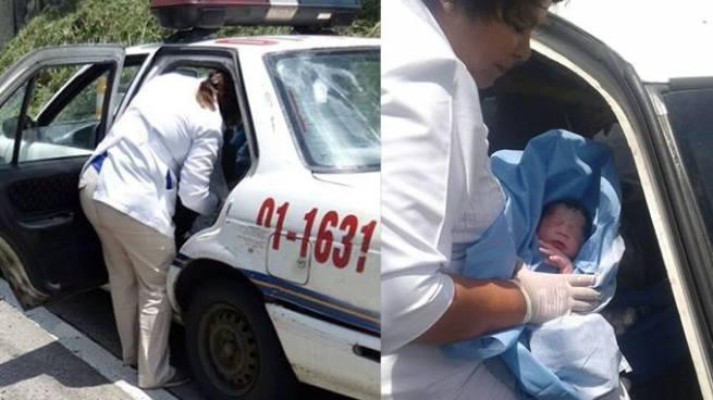 Policías de San Marcos asistieron a una mujer que dio a luz antes de llegar al hospital