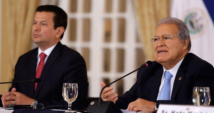 Presidente Sánchez Cerén acepta la renuncia de Hugo Martínez como canciller de la república