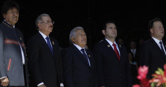 Sánchez Cerén participó en la toma de posesión de Carlos Quesada como presidente de Costa Rica