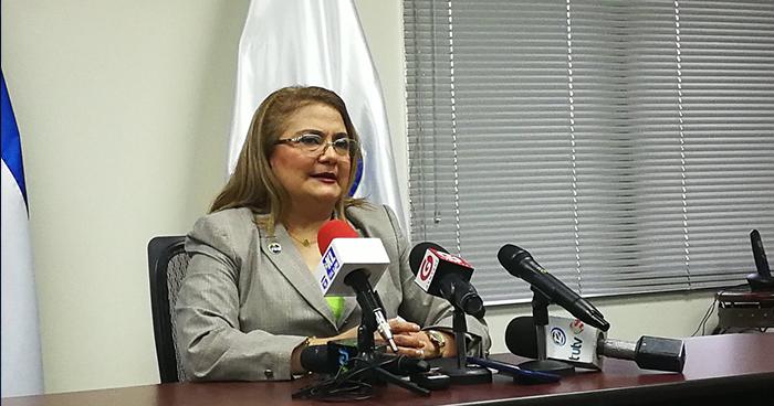 Procuradora Raquel de Guevara no descarta postularse para una reelección