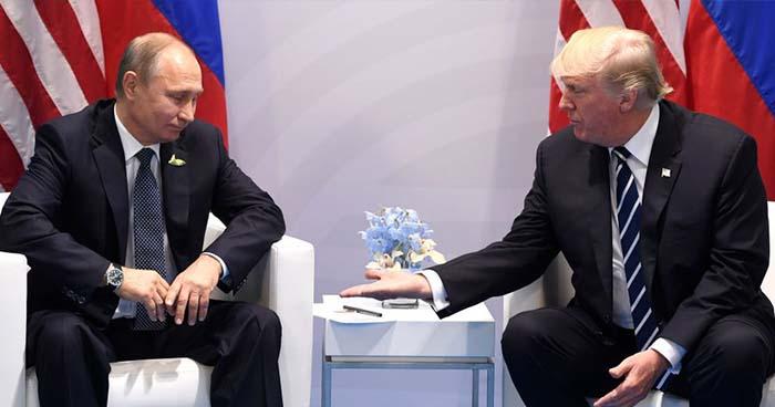 Donald Trump se reunirá con Vladimir Putin el próximo mes en Finlandia
