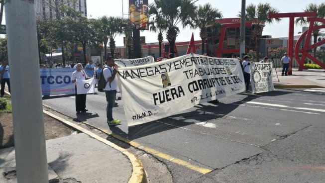 Sindicato protesta contra la administración de CEPA