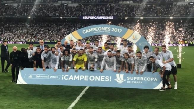 Real Madrid es justo campeón de la Supercopa de España