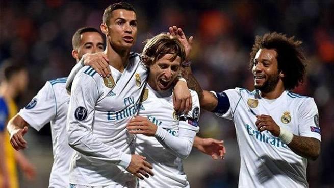 Real Madrid gana por goleada y rompe su mala racha