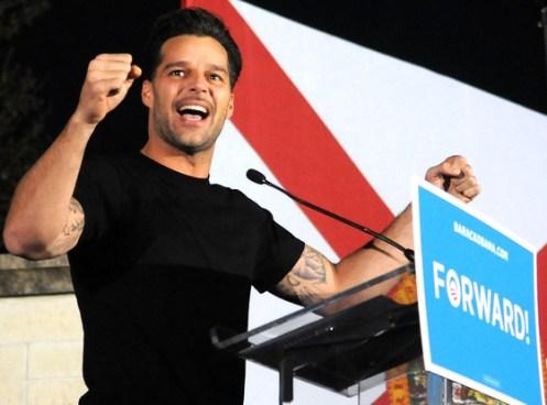 Ricky Martin dice estar orgulloso de ser Latino