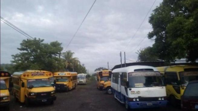 Ruta de buses 3LL en paro de labores por supuestas amenazas de pandillas