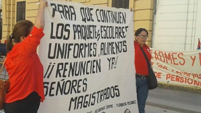 Sindicalistas piden la destitución de los magistrados de la Corte Suprema de Justicia
