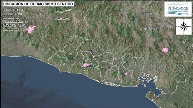 Sismo de 4.1 sacude zona costera oriental del país