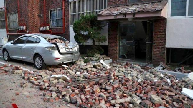 Inusual sismo de 5.4 causa daños en Corea del Sur