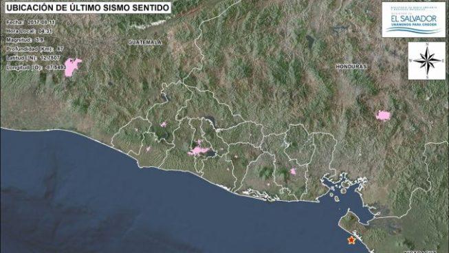 Dos sismos de pequeña intensidad sacuden al país en las últimas horas