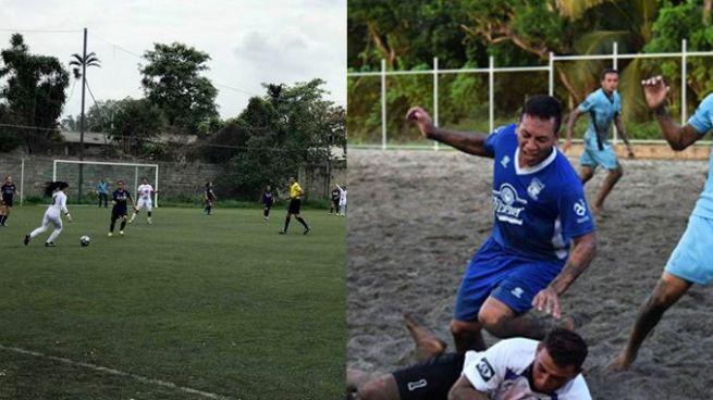 Suspenden jornadas de liga femenina y de fútbol playa por afectaciones de Selma
