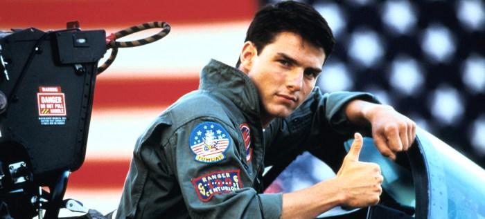 Tom Cruise confirmó que habrá segunda parte de la pelicula Top Gun