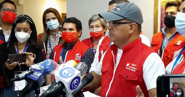 "FMLN se retirará del escrutinio final si TSE ""no pone orden"""