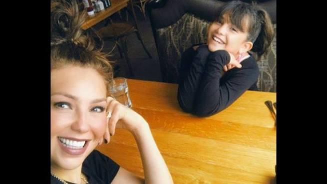 Thalía y el increíble parecido con su hija causa revuelo en redes sociales