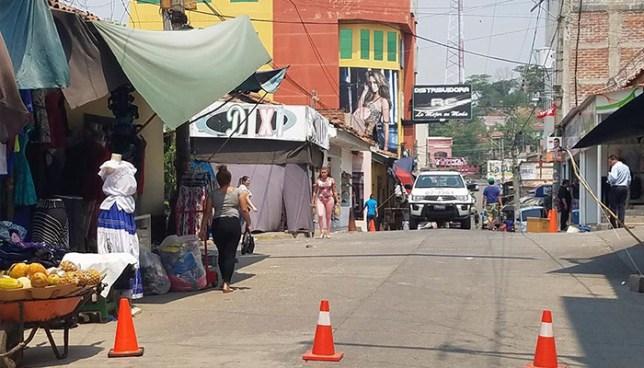 Criminales disparan contra negocio del mercado de Santa Rosa de Lima