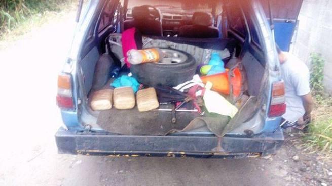 Capturan a sujeto que transportaba tres paquetes de droga en Ciudad Delgado
