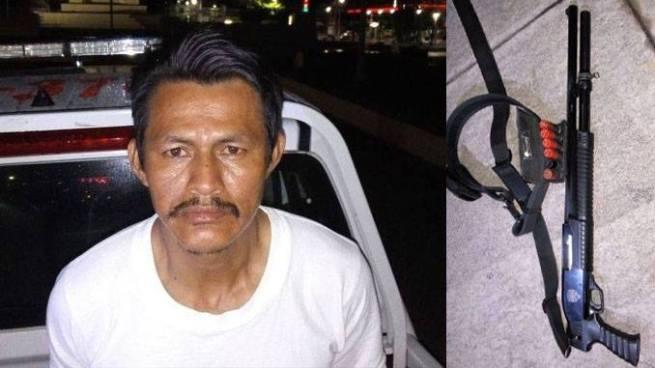 PNC arresta a vigilante ebrio que amenazaba con usar su escopeta