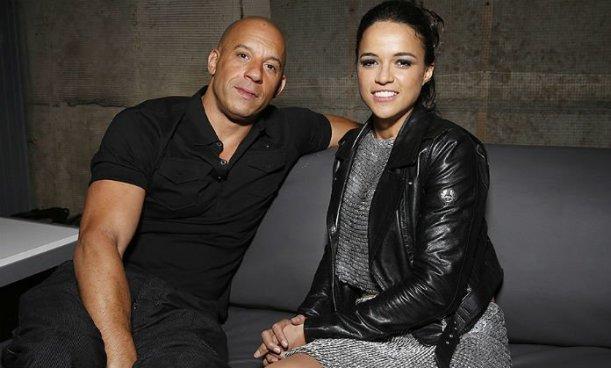 Vin Diesel reacciona a la publicación que hizo Michelle Rodríguez