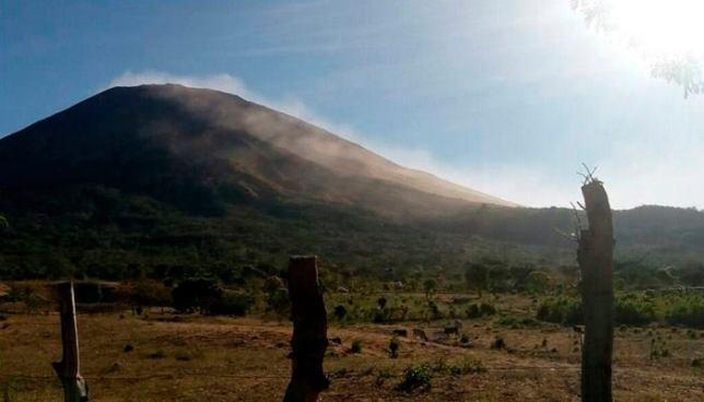 Actividad sísmica del volcán Chaparrastique presenta cambios